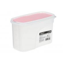 Контейнер Ardesto для сипучих Fresh 1.2 л,рожевий, пластик (AR1212PP)