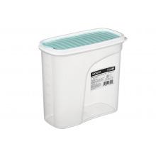 Контейнер Ardesto для сипучих Fresh 1,8 л, голубий тіфані, пластик (AR1218TP)