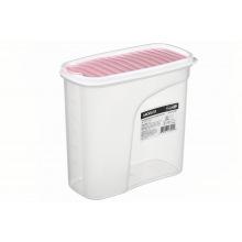 Контейнер Ardesto для сипучих Fresh 1.8 л,рожевий, пластик (AR1218PP)
