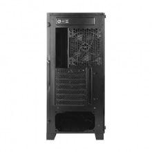Корпус Antec DA601, Gaming, MidT, E-ATX, 2*USB3.0, 1*120мм, ARGB + 1*120мм, стекло (бок.панель), без БП, черный (0-761345-80018-