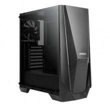 Корпус Antec NX310 Gaming, 2*USB2.0, 1*USB3.0, 1*120мм, ARGB+1*120мм, стекло (бок.панель), без БП, черный (0-761345-81031-9)