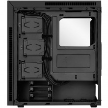 Корпус SilverStone KUBLAI KL07B Silent, MidT, USB3.0x2, Type-C*x1, 3х140мм, шумоізол., черный (SST-KL07B)