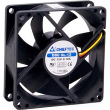 Корпусний вентилятор CHIEFTEC Thermal Killer AF-0825S,80мм,2000 об/хв,3pin/Molex,26dBa (AF-0825S)