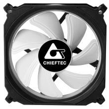Корпусний вентилятор CHIEFTEC TORNADO ARGB fan,120мм,1200об/хв,6pin,16dBa,Single pack w/o HUB (CF-1225RGB)