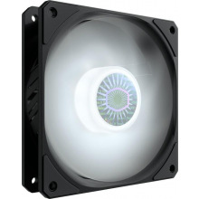 Корпусний вентилятор Cooler Master SickleFlow 120 White LED,120мм,650-1800об/хв,Single pack w/o HUB (MFX-B2DN-18NPW-R1)