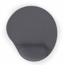 Коврик для мышки с гелевым валиком (MP-GEL-GR) Gray