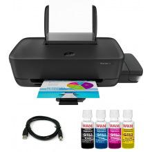 Комплект Принтер HP Ink Tank 115 (без чорнил) + USB кабель + Чорнила WWM по 100г (KP.HP115)