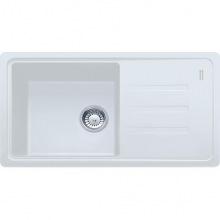 Кухонна мийка Franke Malta BSG 611-78/114.0375.033/ Фраграніт/ 780x435х200/Словаччина/Біла (114.0375.033)