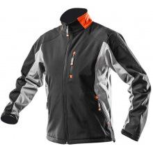 Куртка рабочая Neo, pазмер XL/56, ветро- и водонепроницаемая, softshell, сертификат CE (81-550-XL)