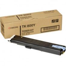 Тонер Kyocera Mita TK-800Y Yellow (370PB3KL)