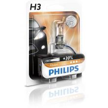 Лампа галогенная Philips H3 Vision, 3200K, 1шт/блистер (12336PRB1)