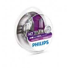 Лампа галогенная Philips H7 VisionPlus, 2шт/блистер (12972VPS2)