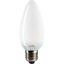 Лампа накаливания Philips E27 60W 230V B35 FR 1CT/10X10 Stan (921501644219)