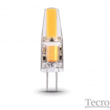 Лампа светодиодная Tecro G4, 2Вт, 4100K, аналог галогеновой лампы 25Вт (PRO-G4-2W-12V 4100K)