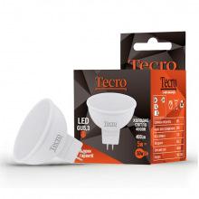 Лампа светодиодная Tecro GU5,3, 5Вт, 4000K, аналог лампы накаливания 50Вт (TL-MR16-5W-4K-GU5.3)