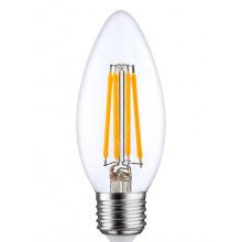 Лампа светодиодная Osram LED STAR E27 5-60W 4000K 220V B35 FILAMENT (4058075212428)