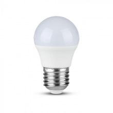 Лампа светодиодная V-TAC, 7W-60W, SKU-867, SAMSUNG CHIP E27 G45 Plastic, 4000K (3800157640121)