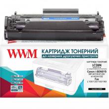 Картридж WWM аналог Canon FX-10 Black (LC26N)