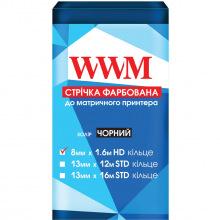 Стрічка фарбуюча WWM 8мм х 1.6 м HD кільце Refill Black (R8.1.6H)