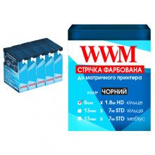 Стрічка фарбуюча WWM 8мм х 1.8 м HD кільце Refill Black (R8.1.8H5) 5шт