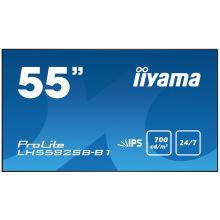 "Монитор IIYAMA 54.6"" FHD/IPS LED/75Hz/8ms/HDMI,DVI DP/Black LH5582SB-B1 (LH5582SB-B1)"