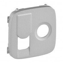 Лицевая панель розетки Legrand TV+RJ Valena INMATIC/ALLURE алюминий (754837)