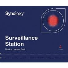 Лицензия Synology Camera License Pack (4 cameras) (DEVICE_LICENSE_(X4))