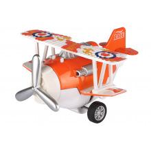 Самолет металлический инерционный Same Toy Aircraft оранжевый  (SY8013AUt-1)