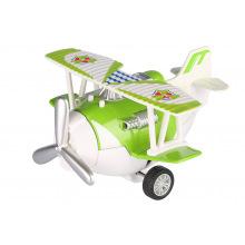 Самолет металлический инерционный Same Toy Aircraft зеленый  (SY8013AUt-4)
