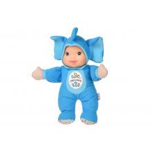 Кукла Baby's First Sing and Learn Пой и учись (голубой слоненок) (21180-1)