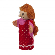 Кукла goki для пальчикового театра Девочка  (SO401G-4)