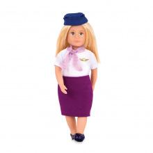 Кукла LORI 15 см Стюардеса Аури  (LO31112Z)