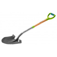 Лопата Verto штыковая T-REX, деревянная ручка (15G001)