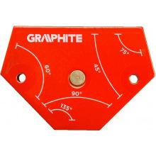 Магнітний зварювальний кутник Graphite 56H904 64 x 95 x 14 мм (56H904)