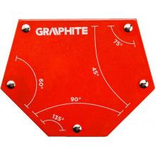 Магнітний зварювальний кутник Graphite 56H905 111 x 136 x 24 мм (56H905)