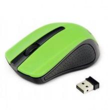 Мышка Gembird MUSW-101-G, безпроводная, USB, Green ( MUSW-101-G)