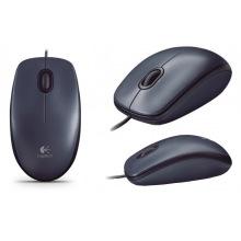 Мишка Logitech M90 Dark (910-001794)