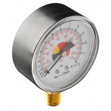 """Манометр сжатого воздуха NEO, 60 мм, 1/4"""" (12-588)"""
