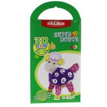 Маса для лепки Paulinda Super Dough 3D FUN Овца  (PL-081288)