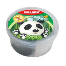 Маса для лепки Paulinda Super dough 40г Панда  (PL-081394-7)