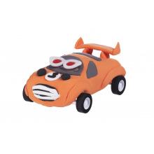 Маса для лепки Paulinda Super Dough Racing time Машинка оранжевая, инерционный механизм  (PL-081161-3)