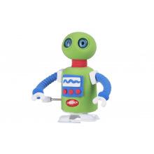 Маса для лепки Paulinda Super Dough Robot заводной механизм (шагает), зеленый  (PL-081178-5)