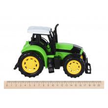 Машинка енерціонная Same Toy Super Combination Тягач червоний з трактором  (98-84Ut-1)