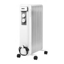 Масляный радиатор Zanussi ZOH/CS-09W 9 cекций, 2000 Вт, 25 м2, мех.упр-е (ZOH/CS-09W)