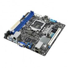 Материнська плата серверна ASUS P11C-I s1151 C242, 2xDDR4, Dual Intel® Gigabit Ethernet mITX (P11C-I)