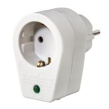 Сетевой адаптер НАМА с функцией защиты от перепадов напряжения, цвет белый (108877)