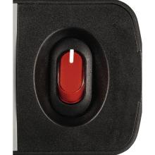 """Сетевой удлиннитель НАМА """"TIDY-Line"""" 6XSchuko с выключателем, 3G*1.5мм, 1.5м, черный/серый (137376)"""