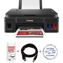 МФУ А4 Canon Pixma G3411 (G3411-Promo) c Wi-Fi + кабель USB + салфетки