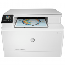 МФУ А4 цв. HP Color LJ Pro M182n (7KW54A)