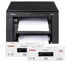 БФП А4 ч/б Canon i-SENSYS MF3010 (бандл з 2-ма картриджами) (5252B034)